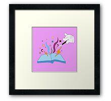 Magical Book Framed Print