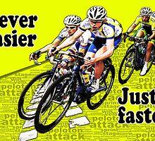 Never Easier Just Faster  by Incakola1