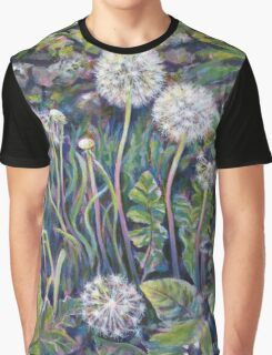 Dandelion seedheads Graphic T-Shirt