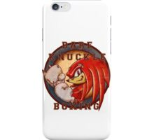 Bare Knuckle Boxing iPhone Case/Skin