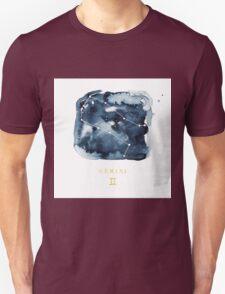 Gemini Zodiac Constellation Unisex T-Shirt