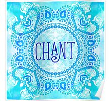 Chant Poster