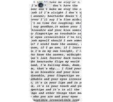 irresistible lyrics one direction  iPhone Case/Skin