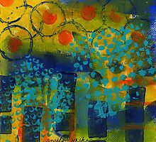 Abstract Expressions: Background Art by © Angela L Walker