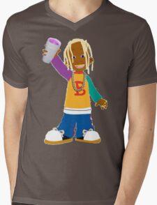 Young Thug Lil Bill Mens V-Neck T-Shirt