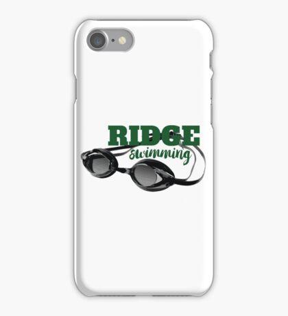 Ridge Swimming Goggles iPhone Case/Skin