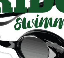 Ridge Swimming Goggles Sticker