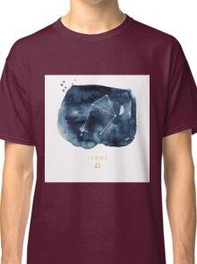 Libra Zodiac Constellation Classic T-Shirt