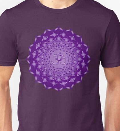 Sahasrarara Crown Chakra Unisex T-Shirt