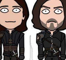 The Musketeers (season 3 uniforms) Sticker