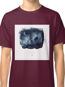 Pisces Zodiac Constellation  Classic T-Shirt