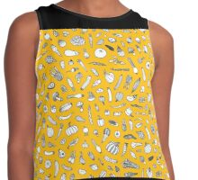 Vegetables - yellow - Contrast Tank