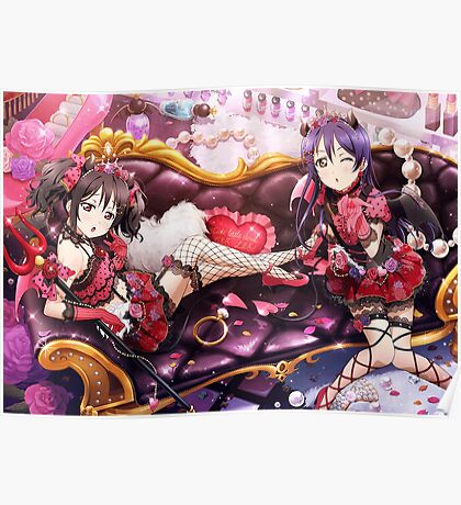Little Devil UR Idolized Umi and Nico Poster Poster