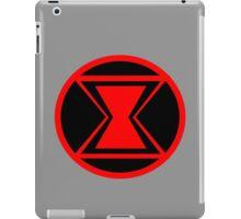 Black Widow Minimalist iPad Case/Skin