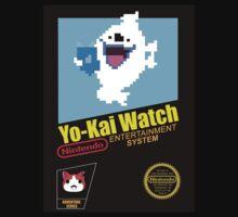Yo-Kai Watch old school Nintendo game Kids Tee