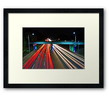 Peak Hour Traffic  Framed Print