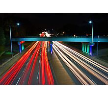 Peak Hour Traffic  Photographic Print