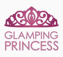 Glamping Princess Kids Tee