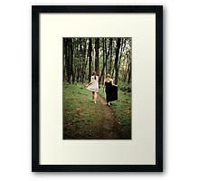 Heather and Sarah Enchanted Framed Print