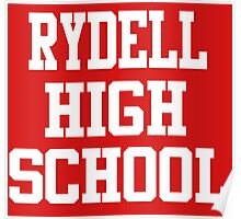 Grease - Rydell High School Poster