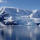 Glaciers in Antarctica by Braedene