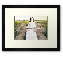 Courage and Faith Framed Print