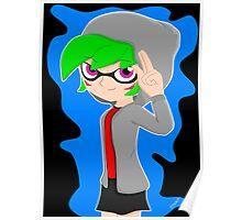Splatoon - Inkling girl OC Poster