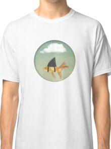 Under a Cloud, Goldfish with a Shark fin Classic T-Shirt