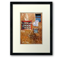 Please, enjoy Dada Framed Print