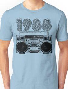 1988 Boombox Unisex T-Shirt