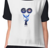 Pokemon Go Team Mystic Chiffon Top