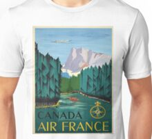 Vintage poster - Canada Unisex T-Shirt