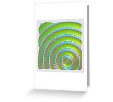 WHO SPIKED THE LIME JELLO ? Greeting Card