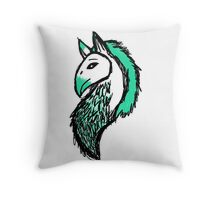 Egyptian Dragon Throw Pillow