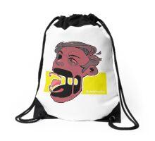 Deconstructed  Drawstring Bag