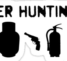 Monster Hunting Gear - Stranger Things Sticker