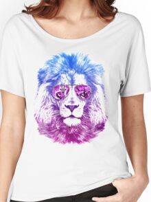 Tackle The Gazzle Says Mr. Lion Women's Relaxed Fit T-Shirt