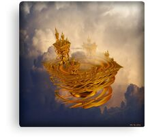 Castle in the sky Canvas Print