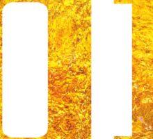 Gold Glitter Version World Class Fan Jersey Design Ezekiel Jones Sticker