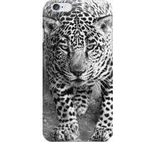 Leopard in Black & White iPhone Case/Skin