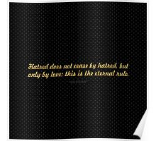 "Harted does not cease... ""Buddha"" Inspirational Quote Poster"