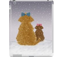 Baby it is cold outside iPad Case/Skin