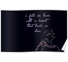 Blue - Troye Sivan Poster