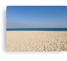 Sand and the Sky Canvas Print