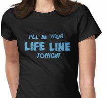 Life Line Tonight - Cold Water Womens Fitted T-Shirt