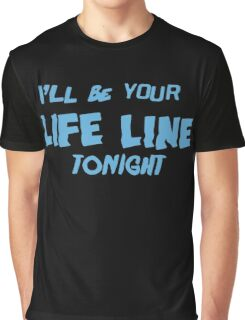 Life Line Tonight - Cold Water Graphic T-Shirt