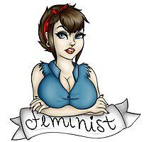 Feminist! Design. Photographic Print