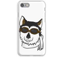 Pilot Husky Portrait iPhone Case/Skin