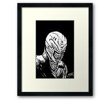 Hellraiser Cenobite Chatterer Framed Print