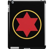 Black Widow Logo Redesign iPad Case/Skin